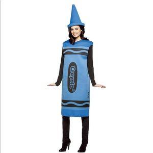 NWT Blue Crayola Crayon Halloween Costume